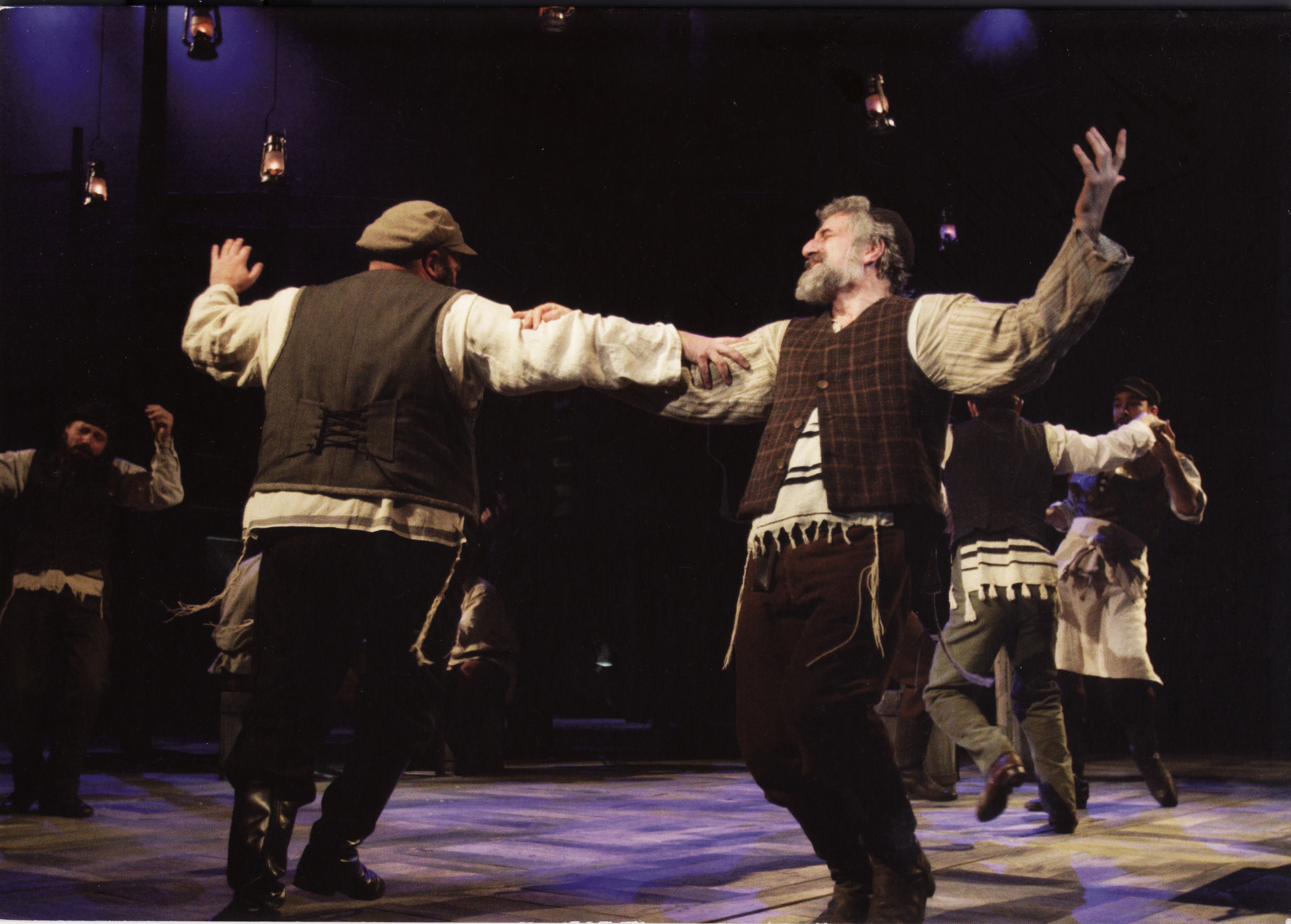 Tevye and Lazar Wolf in the Inn Fiddler Sheffield 2006